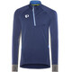 PEARL iZUMi Pursuit Wind Thermal - Camiseta manga larga running Hombre - azul